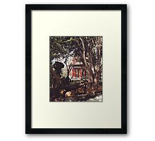 yangming mountain3 Framed Print
