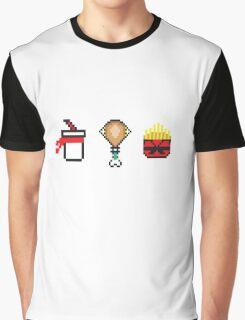 Super 8bit Street Combo Graphic T-Shirt
