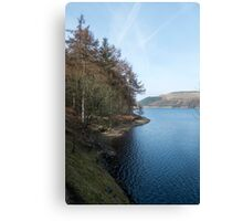 View north from the West bank of the Derwent Reservoir Canvas Print