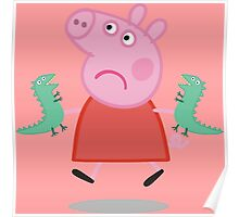 Peppa Pig - Those are not mines Poster