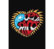 Corazon de Puerto Rico Photographic Print