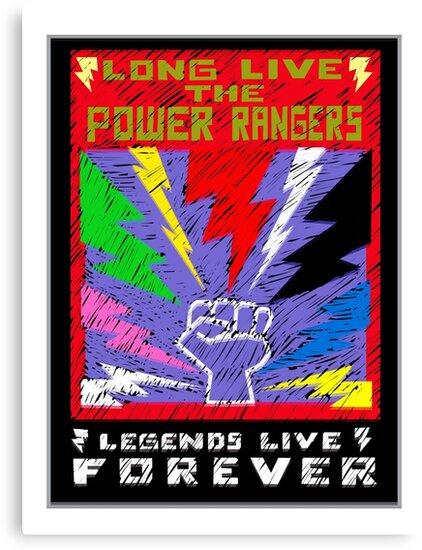 Long Live the Power Rangers by Krakenstein
