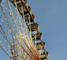 Ferris Wheel with Berlin TV Tower, Alex, Germany  Sticker
