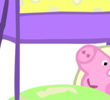 Peppa Pig Bed Time Sticker