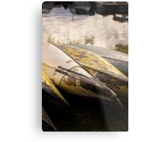 Old Canoes - Advertising Photography Metal Print