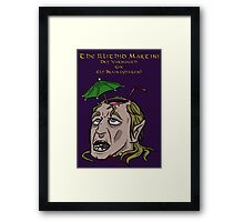 The Illithid Martini Framed Print