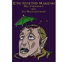 The Illithid Martini Photographic Print