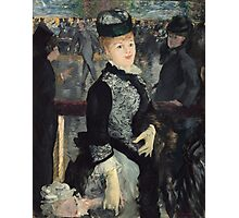 Edouard Manet - Skating 1877 French Impressionism , Woman , Portrait , Fashion Photographic Print