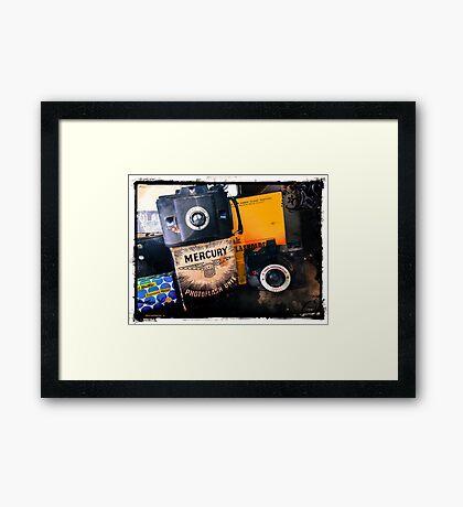 AGFA and ANSCO  Framed Print