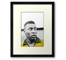Pelè - Brazilian top player Framed Print