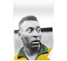 Pelè - Brazilian top player Poster