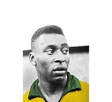 Pelè - Brazilian top player Photographic Print
