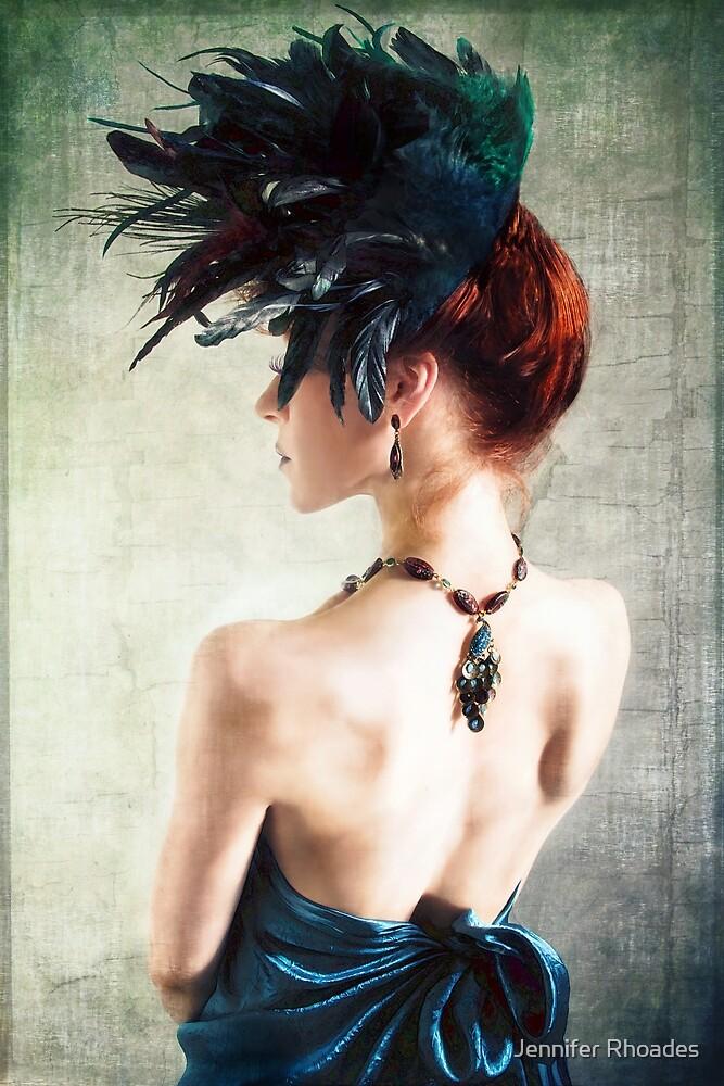 Madame Peacock II by Jennifer Rhoades