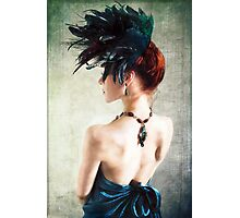 Madame Peacock II Photographic Print