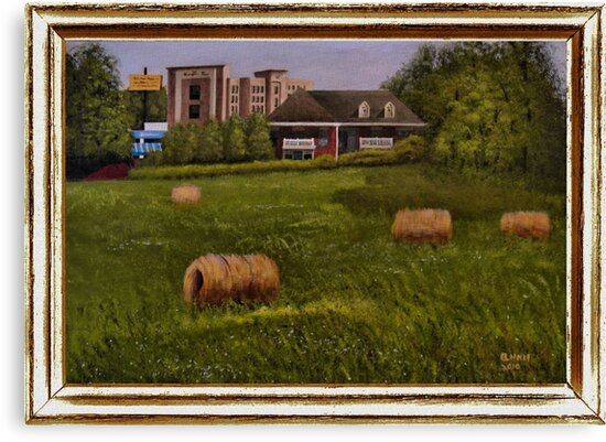 """""""A Little Bit of Country"""" ... with a canvas and framed presentation, for prints and products by © Bob Hall"""