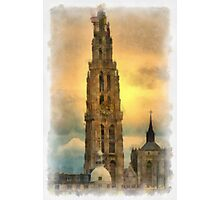 Our Lady's Cathedral - Antwerp Photographic Print