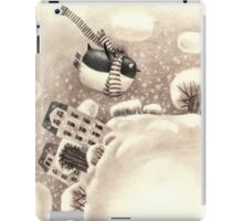 Cute Cartoon Flying Penguin iPad Case/Skin