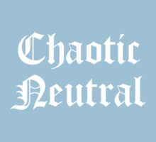Chaotic Neutral Kids Tee