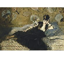 Edouard Manet - Woman with Fans 1873 Woman Portrait Fashion  Photographic Print