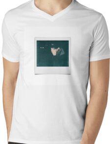 Cashmere Cat Polaroid Shot Mens V-Neck T-Shirt