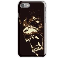 He didn't keep clear of the moors iPhone Case/Skin
