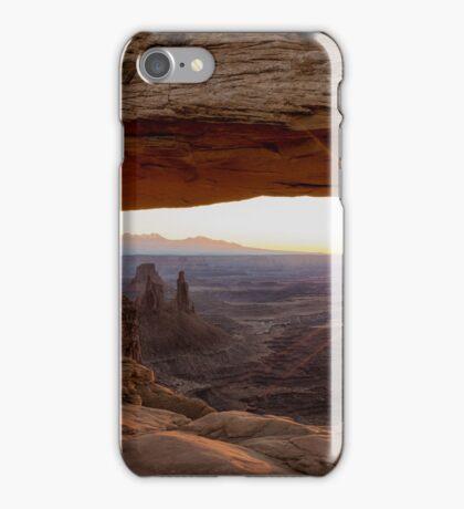 Mesa Arch Sunrise - Canyonlands National Park - Moab Utah iPhone Case/Skin