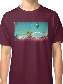 No Man's Sky Landscape Design Classic T-Shirt