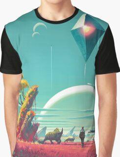 No Man's Sky Landscape Design Graphic T-Shirt