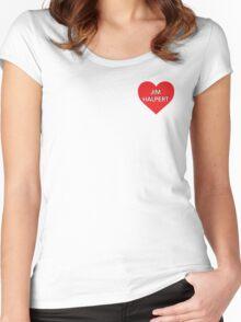 Jim Halpert Women's Fitted Scoop T-Shirt