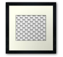 Spice Bag pattern  Framed Print