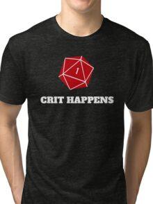 Crit Happens Tri-blend T-Shirt