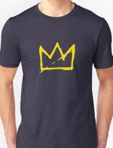 Yellow BASQUIAT CROWN Unisex T-Shirt