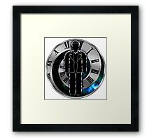 Doctor Who - 9th Doctor - Christopher Eccleston Framed Print