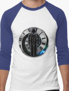 Doctor Who - 9th Doctor - Christopher Eccleston Men's Baseball ¾ T-Shirt