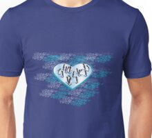 LOVE: Penguins Unisex T-Shirt