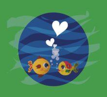 Love under the sea Kids Tee