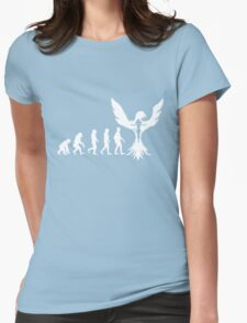 Evolution of X-Man - Phoenix Womens Fitted T-Shirt