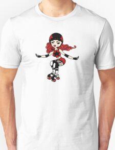 Roller Girl Unisex T-Shirt