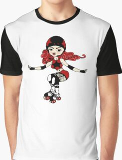 Roller Girl Graphic T-Shirt