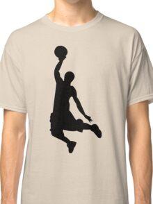 Basketball Player, Slam Dunk Silhouette Classic T-Shirt