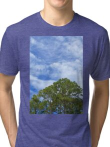 Sky and Trees Tri-blend T-Shirt