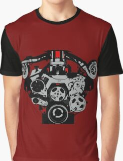 Twin-turbo engine Graphic T-Shirt