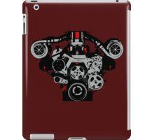 Twin-turbo engine iPad Case/Skin