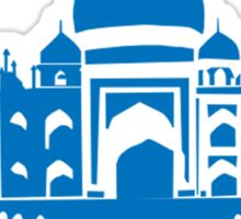 Taj Mahal, India (Indian Palace Silhouette) Sticker