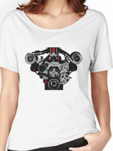 Twin-turbo engine Women's Relaxed Fit T-Shirt