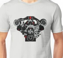 Twin-turbo engine Unisex T-Shirt