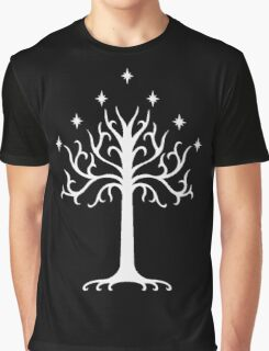 White Tree of Gondor-  the lord of the rings Graphic T-Shirt