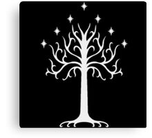 White Tree of Gondor-  the lord of the rings Canvas Print