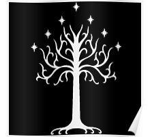 White Tree of Gondor-  the lord of the rings Poster