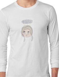 Sad Note Pad Long Sleeve T-Shirt